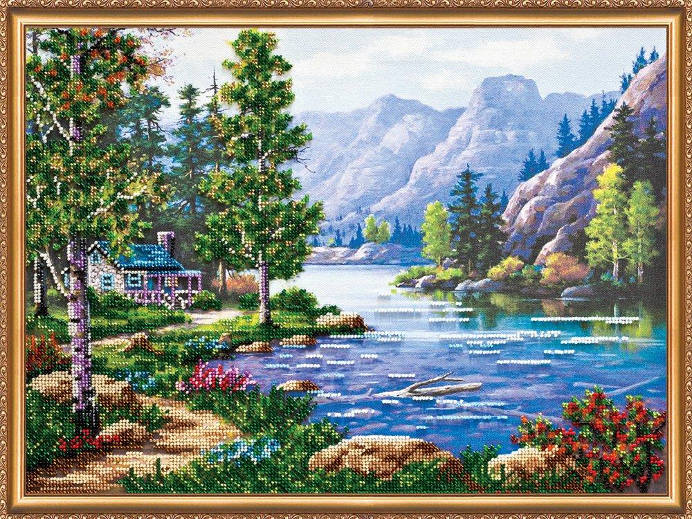 Картинки для вышивки крестиком природа